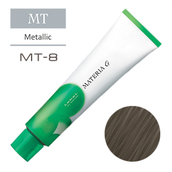 Lebel Краска для волос Materia G Тон MT8 - Светлый блондин металлик 120 гр.
