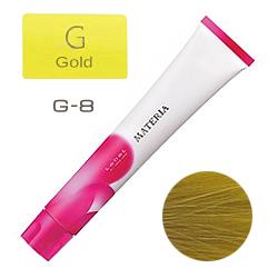 Lebel Краска для волос materia G8 - Светлый блондин жёлтый 80 гр