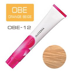 Lebel Краска для волос Materia OBE12 - Супер блондин оранжево-бежевый 80 гр