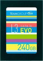 "Накопитель SSD 240GB Team L3 EVO 2.5"" SATAIII TLC (T253LE240GTC101)"