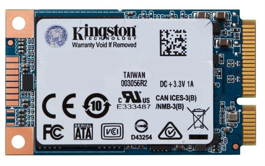 Накопитель SSD  120GB Kingston UV500 mSATA SATAIII 3D TLC (SUV500MS/120G)