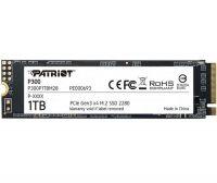 Накопитель SSD 1TB Patriot P300 M.2 2280 PCIe NVMe 3.0 x4 TLC (P300P1TBM28)