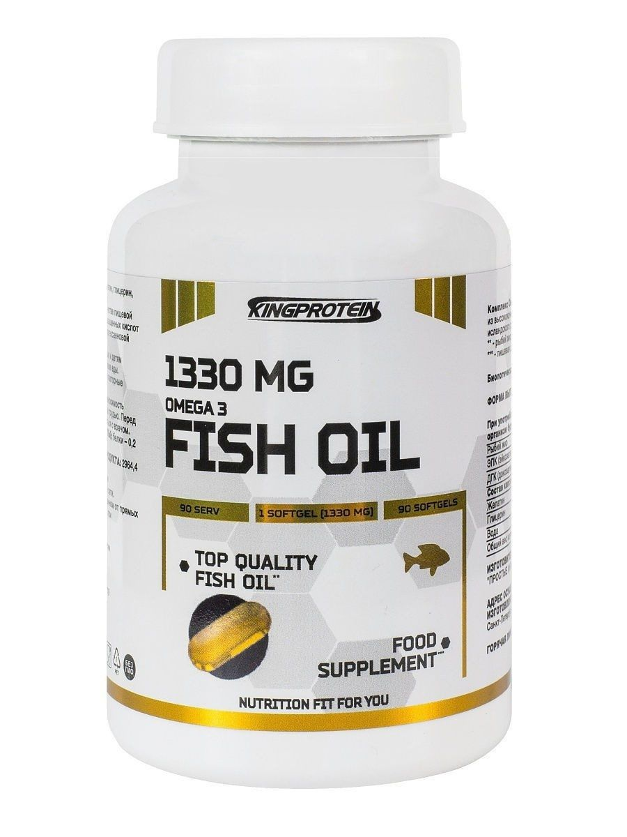 King Protein  OMEGA 3 1330mg   90 капс