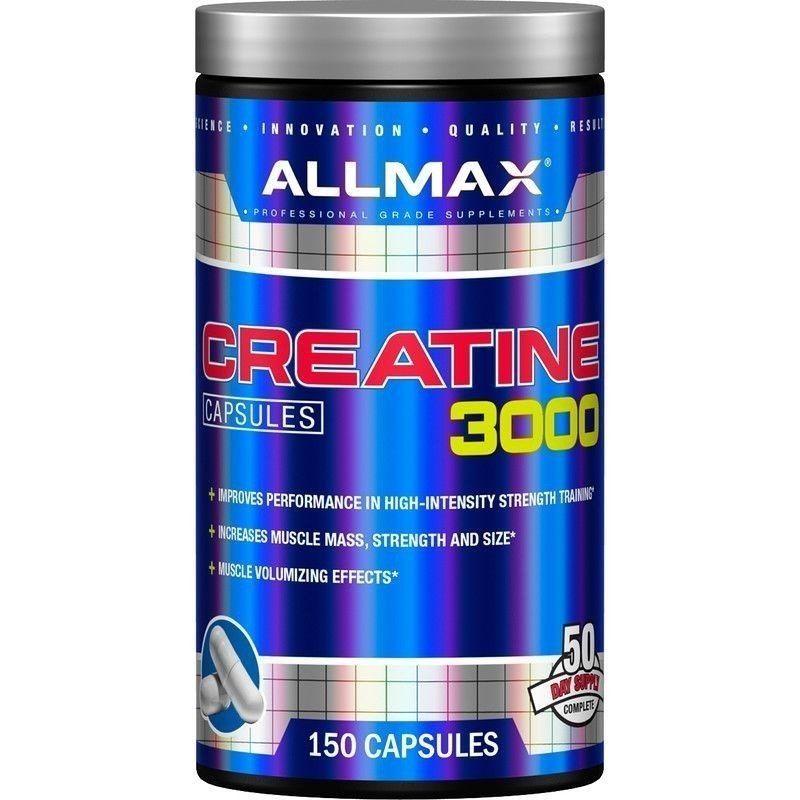 ALLMAX CREATINE 3000 150 CAPSULES