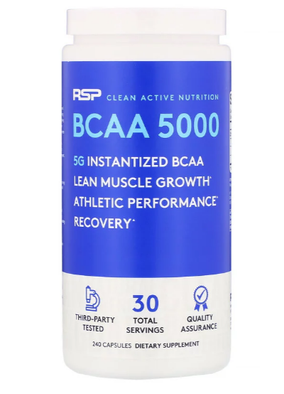 RSP BCAA 5000 МГ 240 КАПС