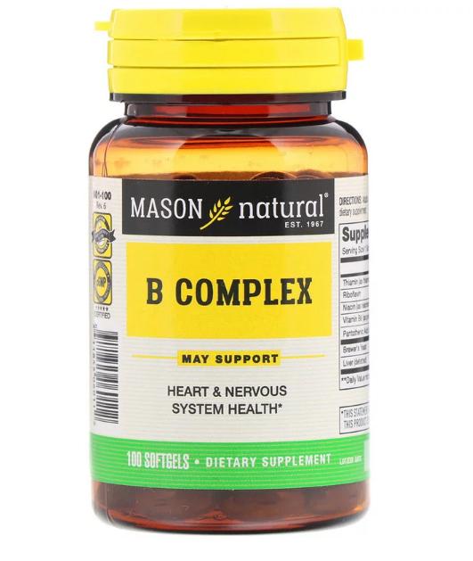 Mason Natural B Complex 100 капс