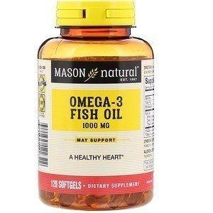 Mason Natural Omega 3 1000 мг 120  таб