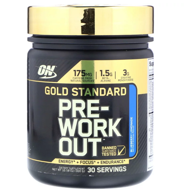 ON GOLD STANDART PRE-WORKOUT 300 гр
