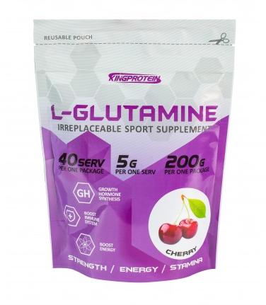 KING L-GLUTAMINE 200 гр
