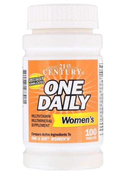 21st Century One Daily для женщин 100 таб
