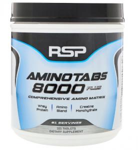 RSP AminoTabs 8000 Plus 325 таб