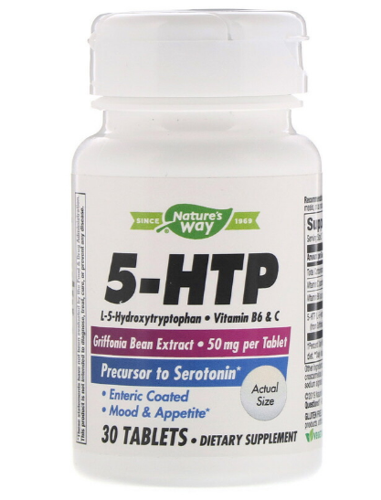 Nature's Way 5-HTP 30 табл