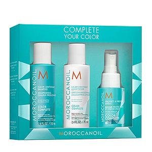 Moroccanoil Complete Your Color - Набор для сохранения цвета волос 70мл шамп. + 70мл конд. + 50мл спрей