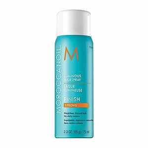 Moroccanoil Luminous Hair spray Finish Strong - Лак сильной фиксации, 75 мл