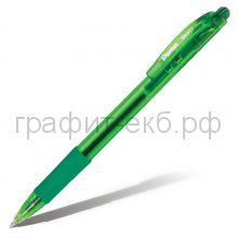Ручка шариковая Pentel BK417 Wow матовый корпус зеленая