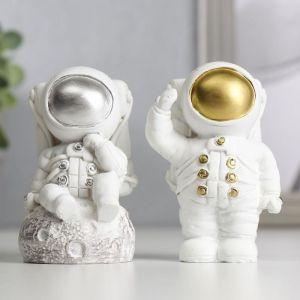 """Сувенир полистоун """"Астронавт"""" МИКС 9,5х5,5х6,6 см   5037288"""
