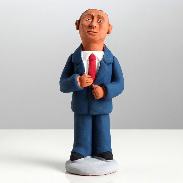 """Статуэтка """"Путин"""", разноцветная, 17 см, микс"""
