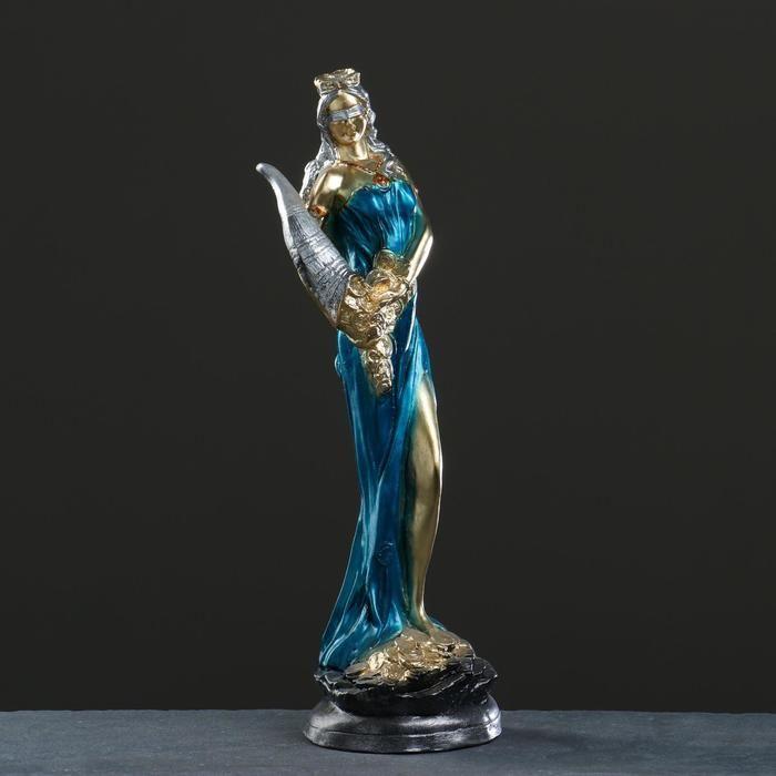 """Фигура """"Богиня Фортуна"""" в голубом платье,  50см 5231593"""