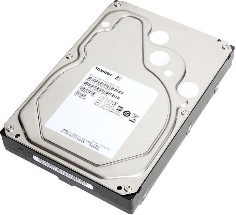 Накопитель HDD SATA 1TB Toshiba 7200rpm 128MB (MG04ACA100N)