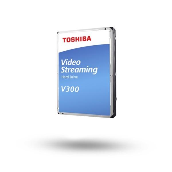 Накопитель HDD SATA 2.0TB Toshiba V300 5700rpm 64MB (HDWU120UZSVA)