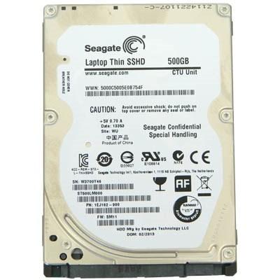 "Накопитель HDD 2.5"" SATA  500GB Seagate Laptop Thin SSHD 64MB 5400rpm (ST500LM000) Refurbished"