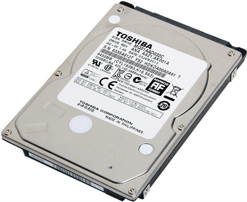 "Накопитель HDD 2.5"" SATA 320GB Toshiba 8MB 4200rpm (MQ01AAD032C)"