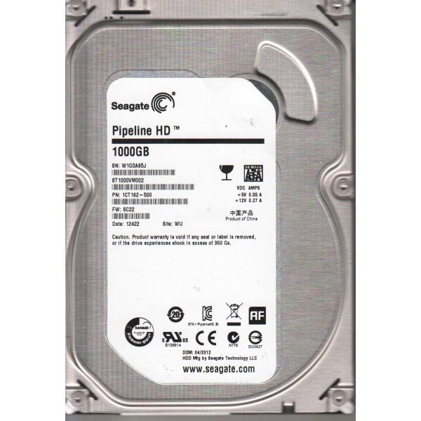 Накопитель HDD SATA 1.0TB Seagate Pipeline HD 5900rpm 64MB (ST1000VM002)