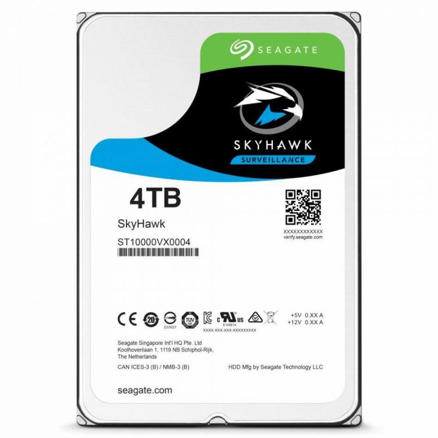 Накопитель HDD SATA 4.0TB Seagate SkyHawk Surveillance 64MB (ST4000VX007)