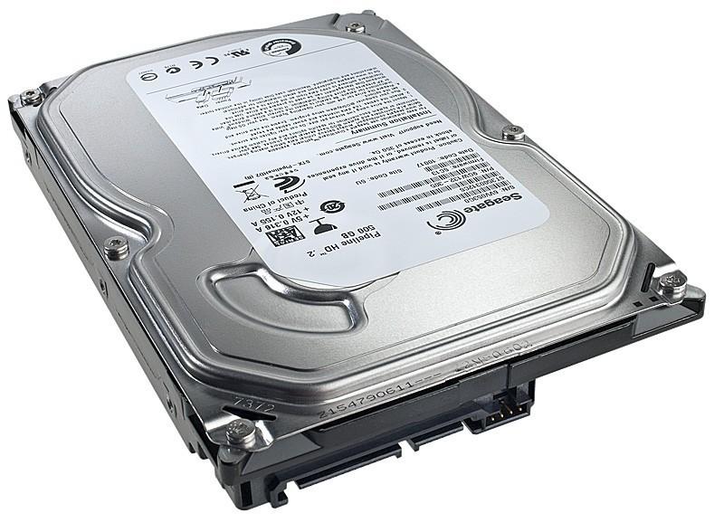 Накопитель HDD SATA  500GB Seagate 5900RPM 8MB (ST3500312CS) Refurbished