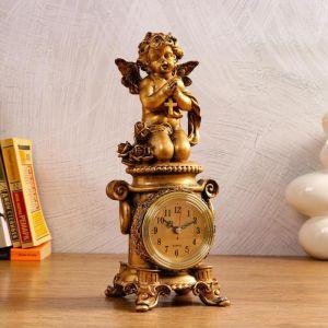 """Часы настольные """"Молитва"""", 1 АА, дискретный ход,  12х13х32.5 см   5180707"""