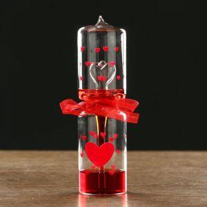 """Тепловой фонтан """"Я тебя люблю"""", 18х5 см, микс 455129"""