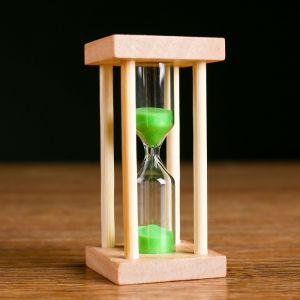 """Часы песочные """"Акцент"""" на 5 минут, 8.5х4.2 см, микс 1446283"""