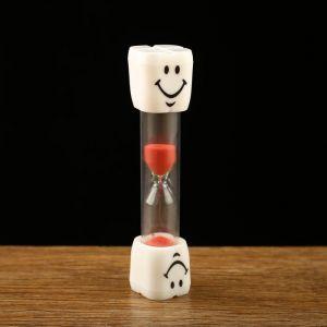 """Часы песочные """"Зубик"""" на 3 минуты, 2.5х10 см, микс 2996837"""