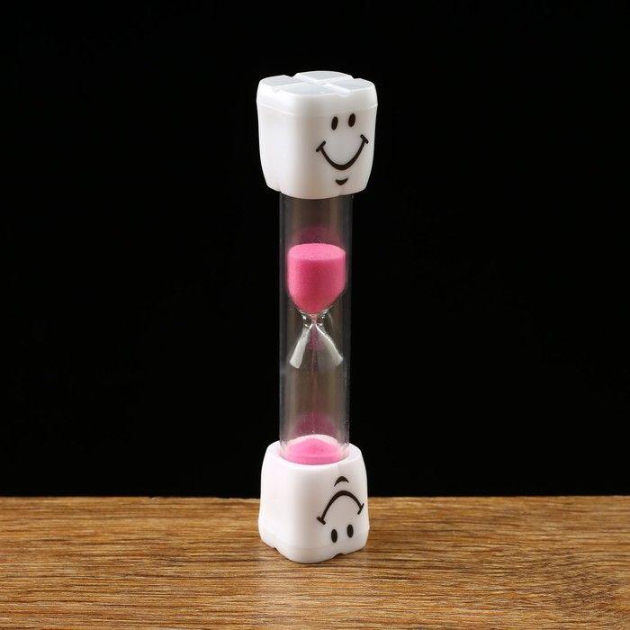 """Часы песочные """"Зубик"""" на 5 минут, 2.5х10 см, микс 2996838"""