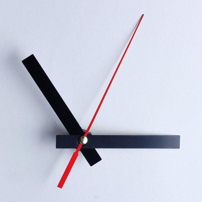 Комплект из 3-х стрелок для часов чёрные 68/95/143  (фасовка 100 наборов) 3521496
