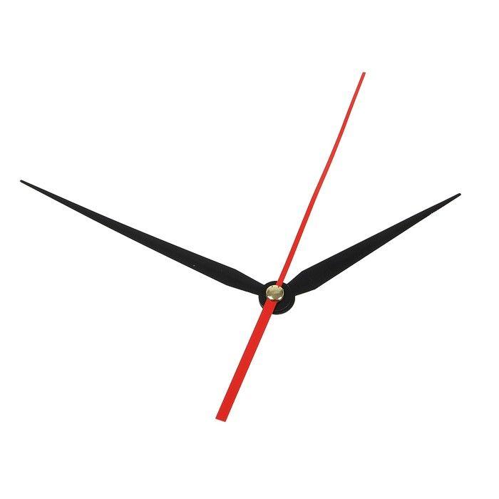 Комплект из 3-х стрелок для часов черные 86/113 (2032) (фасовка 100 наборов) 2310967