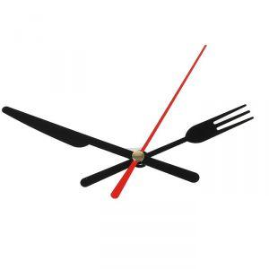 Комплект из 3-х стрелок для часов черные вилка нож 58/72 (671) (фасовка 100 наборов) 2310939