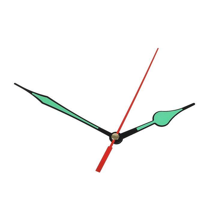 Комплект из 3-х стрелок для часов, светятся в темноте 69/97(2000Y) (фасовка 100 набор) 2310963