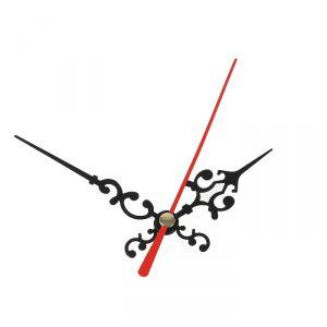 Комплект из 3-х стрелок для часов, черные, резные 50/68 (1045) (фасовка 100 наборов) 2310953