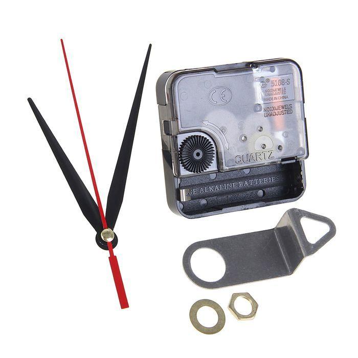 Набор, часовой механизм 5168s, подвес+комплект стрелок 74/100/94, шток 12, резьба 5 мм 1296123