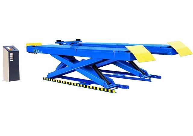 Подъемник ножничный электрогидравлический  PEAK PX09A г/п 4 тонны, для сход-развала