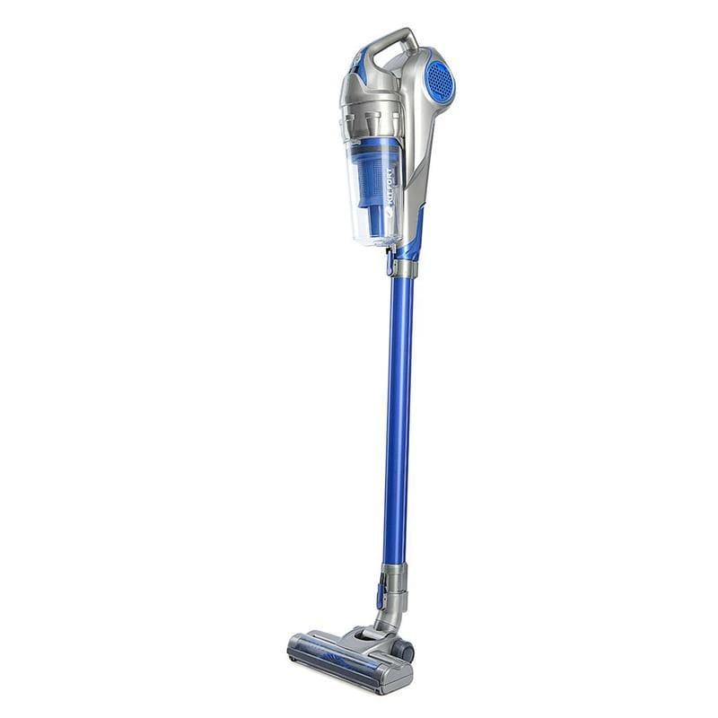 Вертикальный пылесос KitFort КТ-517-2 серо-синий