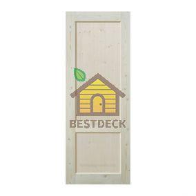 Двери из массива сосны неокрашенная; филёнчатая ДГФ-ПП