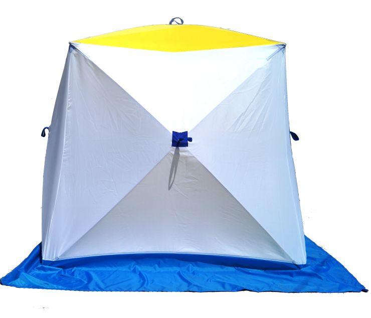 Палатка   зимняя КУБ-2 Стэк однослойная 185*185*175