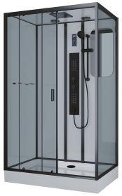 Душевая кабина Niagara Premium NG-6912-01GQL BLACK 120x80