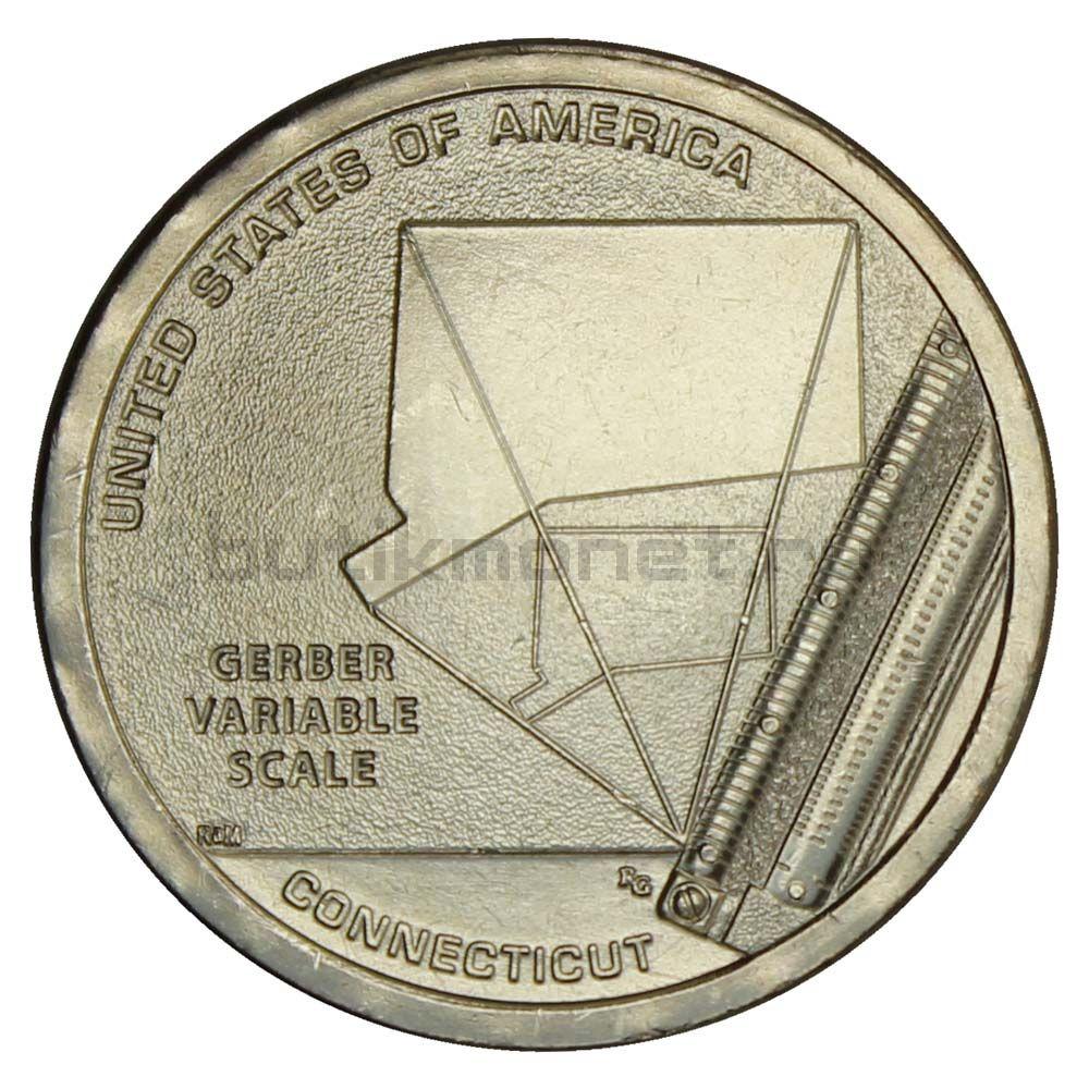 1 доллар 2020 США Переменная шкала Гербера (Американские инновации)