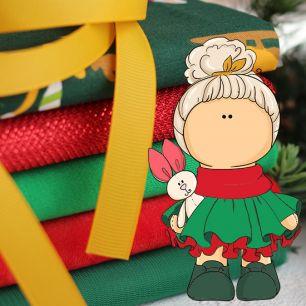 Набор тканей для пошива Новогоднее настроение