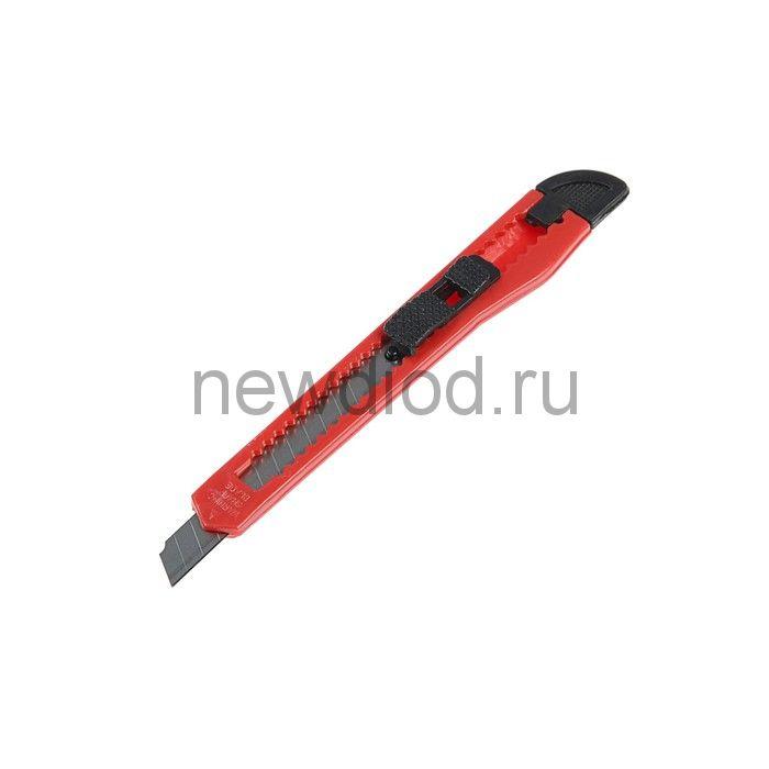Нож универсальный LOM, пластиковый корпус, 9 мм