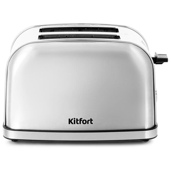 Тостер KitFort KT-2036-6 серебристый (НОВИНКА)