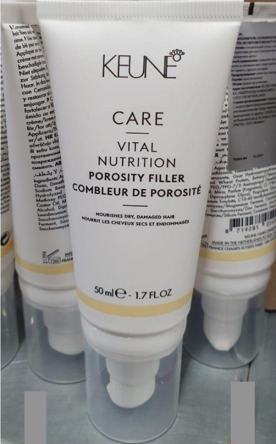 Keune Крем-наполнитель Основное питание для ум.пор-ти/ CARE Vital Nutr Porosity Filler, 50 мл.